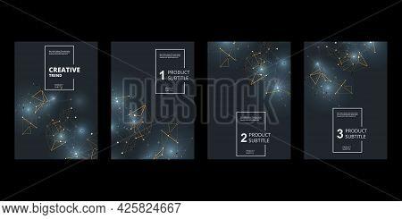 Business Card For Wallpaper Design. Vector Illustration Graphic Design Elements. Abstract Modern Pri