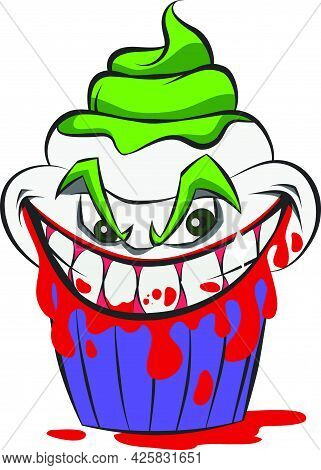 Super Villains Imagined As Delicious Cupcakes For Halloween.