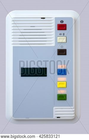 A Bed Side Switch Button, Emergency Switch Call Nurse Help In The Hospital