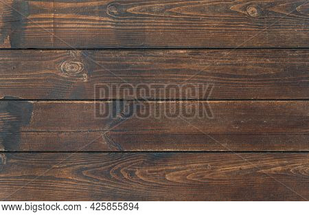 Vintage Brown Wood Background Texture. Dark Wooden Background. Old Brown Rustic Dark Wooden Texture.