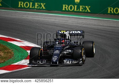 Pierre Gasly Of Alpha Tauri   On Track  During Free Practice Of   Styrian Formula 1 Gran Prix 2021