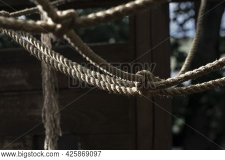 The Ropes Are Tied In A Knot.