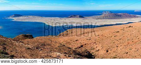 Mirador Del Rio, A View Point In Lanzarote