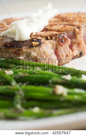Tuna and Asparagus