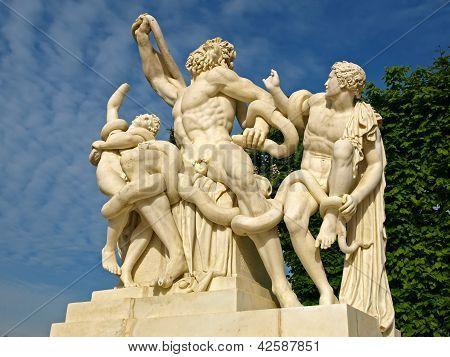 Laocoon Sculpture At Versailles