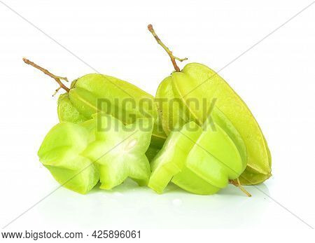 Star Apple Isolated On A White Background