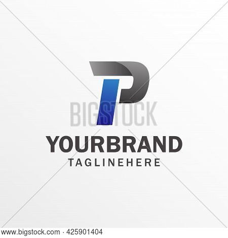 P Letter Logo Icon Design Template Elements. Graphic Alphabet Symbol For Corporate Business Identity