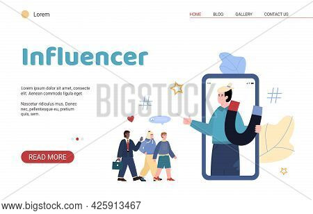 Vector Web Banner For Lead Generation And Advertising Business Marketing.