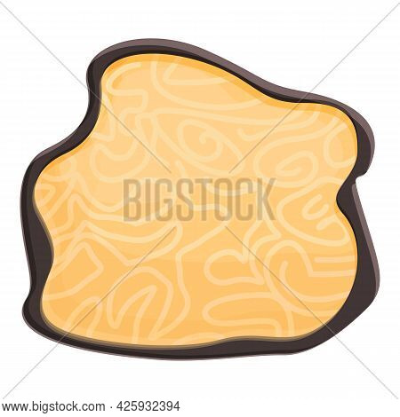 Quality Truffle Icon Cartoon Vector. Fungi Truffle. Cooking Mushroom