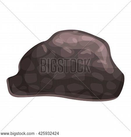 Aroma Truffle Icon Cartoon Vector. Food Fungi. Mushroom Truffle