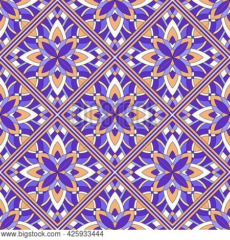 Vintage Ethnic Pattern Outline Hand Drawn Vector. Tribal Seamless Texture. Wallpaper Design Fabric E