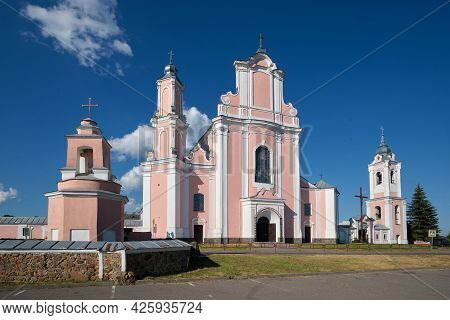 Old Peter And Paul Cathedral In Boruny Village, Oshmyany District, Grodno Region, Belarus.