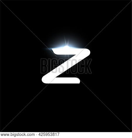 Z Letter Logo, Bold Italic Letter For Automotive, Speed Race, Sport Label Design And Dynamic Monogra