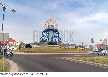 Gorzow Wielkopolski, Poland - June 1, 2021: Observation Tower Dominanta.