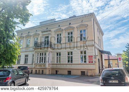 Swiebodzin, Poland - June 1, 2021: Social Welfare Center In Swiebodzin.