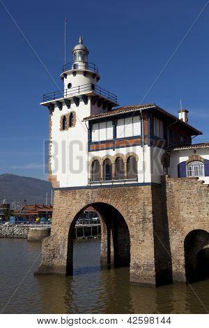 Sea Rescue Station Of Getxo, Bizkaia, Spain