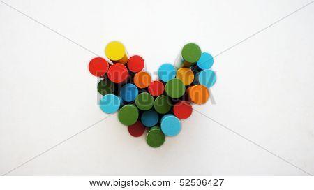 Colour heart.