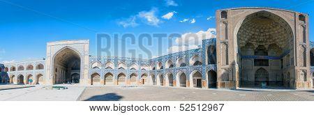 Courtyard of Jameh Mosque