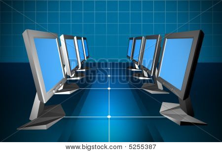 Computer Wireless Networking Concept