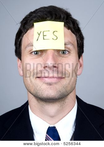Note Says Yes