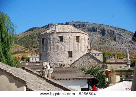 The Halebija Tower, Mostar, Bosnia-herzegovina
