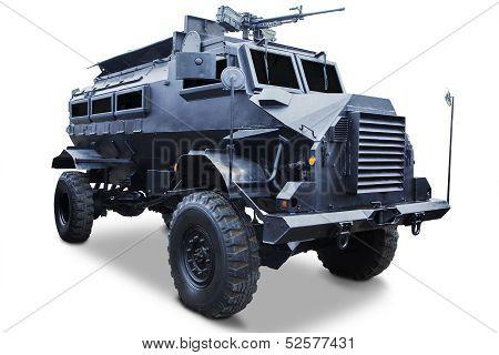 Military - Closeup Of Tank Truck