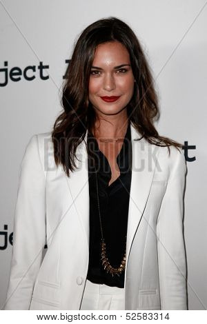 NEW YORK- OCT 17: Actress Odette Annable attend the Project A.L.S. 15th Anniversary benefit at Roseland Ballroom on October 17, 2013 in New York City.