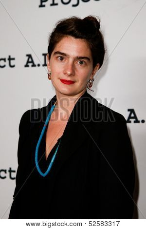 NEW YORK- OCT 17: Actress Gaby Hoffman attends the Project A.L.S. 15th Anniversary benefit at Roseland Ballroom on October 17, 2013 in New York City.