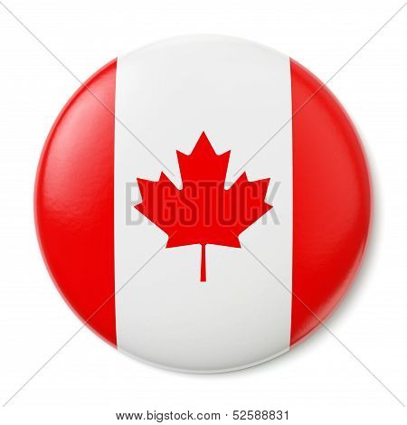 Canada Pin-back
