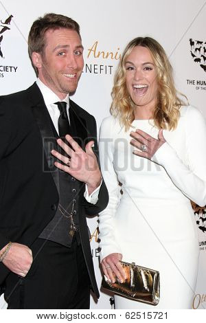 LOS ANGELES - MAR 29:  Philippe Cousteau, Ashlan Gorse Cousteau at the Humane Society Of The United States 60th Anniversary Gala at Beverly Hilton Hotel on March 29, 2014 in Beverly Hills, CA