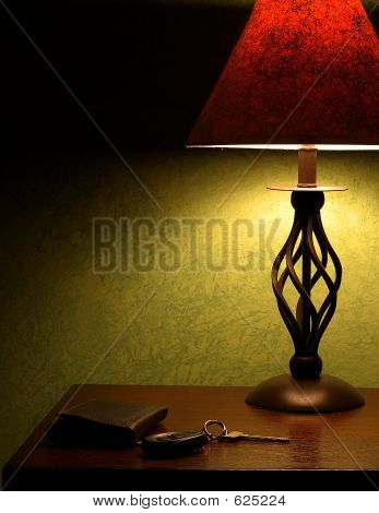Lamp On Night