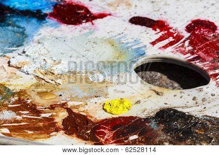 Oil Color Palet