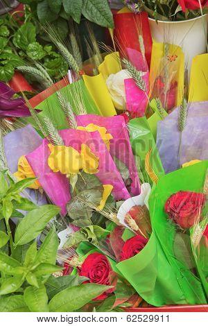 Flower Stalls (la Rambla, Barcelona)