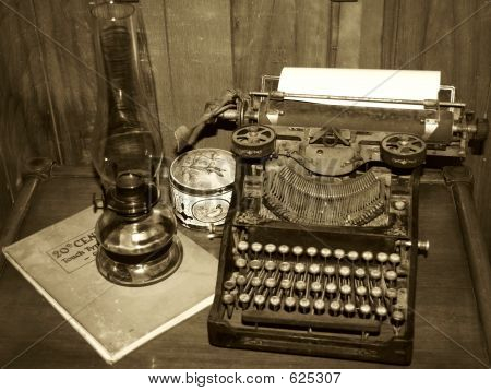 Old Writer's Desk