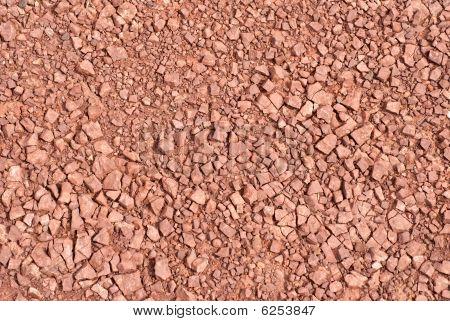 Red Rock Gravel Texture