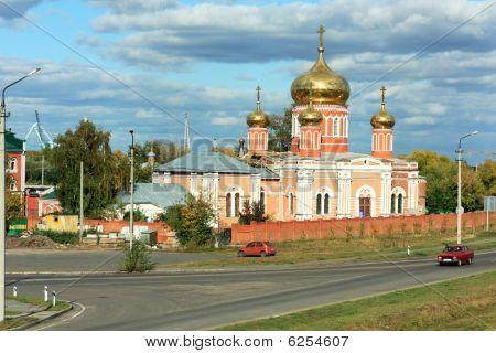 Znamensky Nunnery In Barnaul