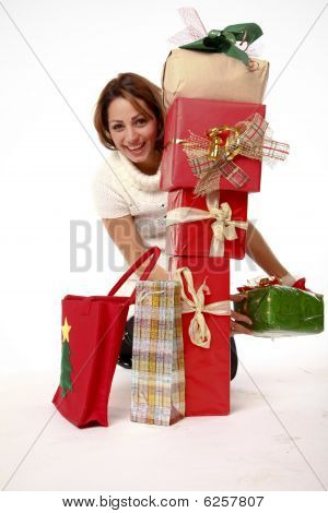 Happy With Lots Of Presents