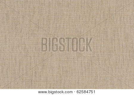 Beige Background From Cloth