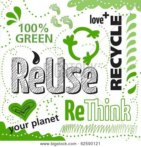 Reuse Rethink Recycle