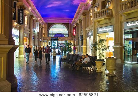 Forum Shops In Caesar's Palace In Las Vegas