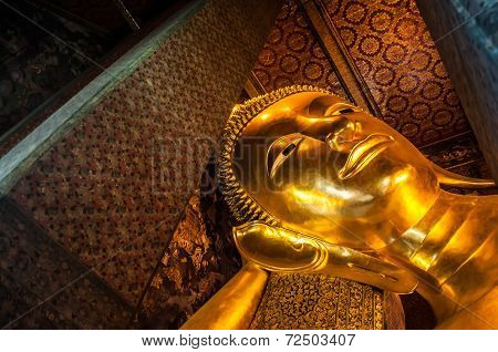 Under the head of the giant Buddha