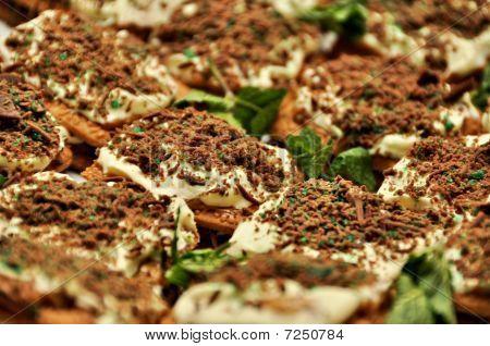Peppermint Crisp Tartlets