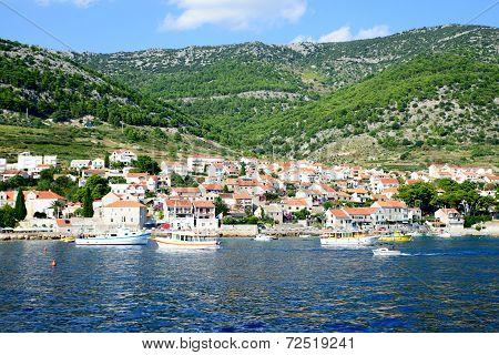 View Of The Sea In Croatia