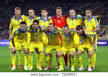 Ukraine National Football Team