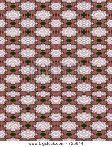 Rosy Formal Victorian Wallpaper