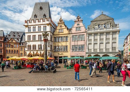 In The Streets Of The Trier
