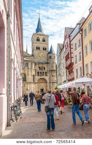 In The Streets Of The Trier.