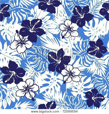 pattern of Hibiscus