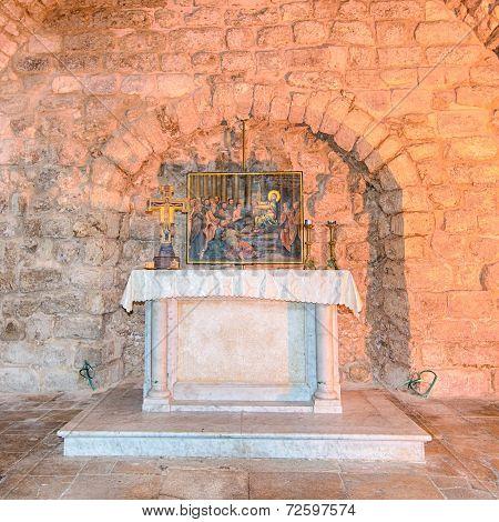Synagogue Church, Nazareth, Israel