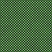 Dark Green and White Small Polka Dots Pattern Repeat Background that is seamless and repeats poster